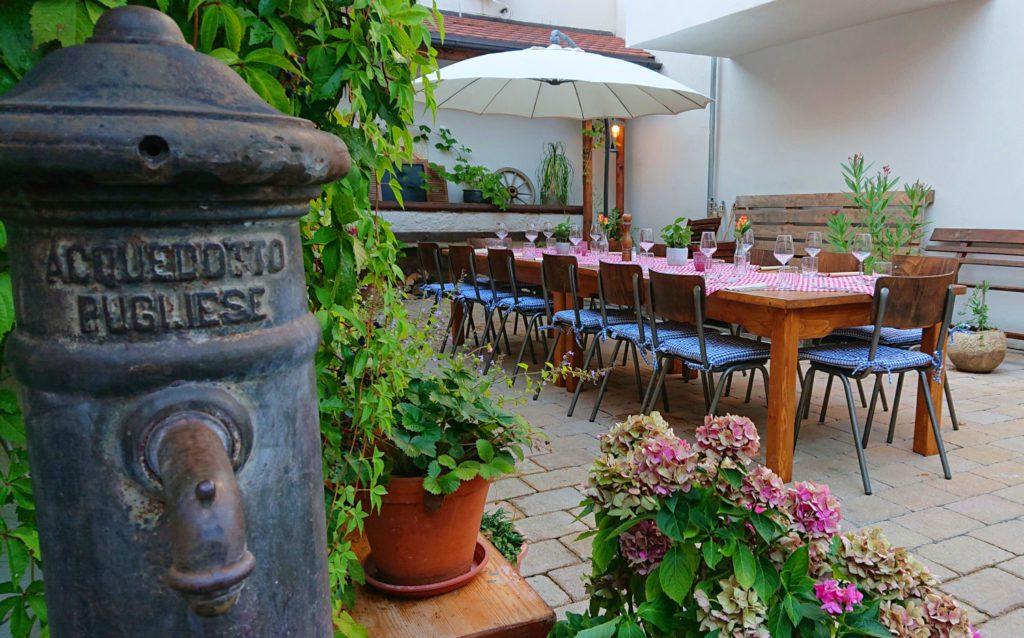 Casa Gargano Eventlocation Traunstein - Gastgarten, Biergarten